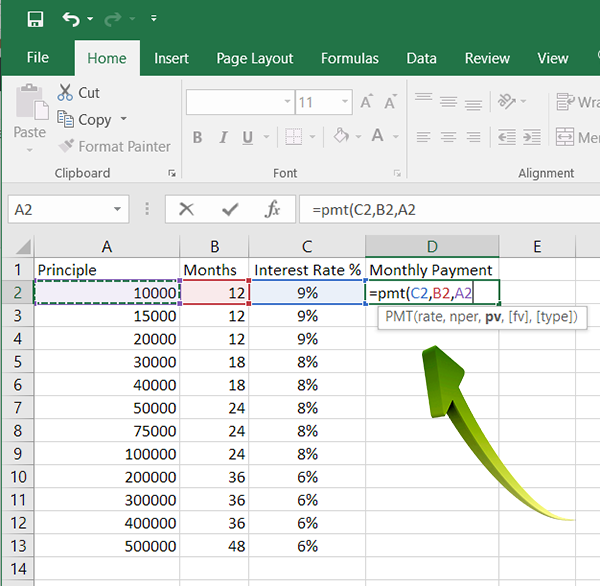Hot-PC-Tips---Excel-PMT-2