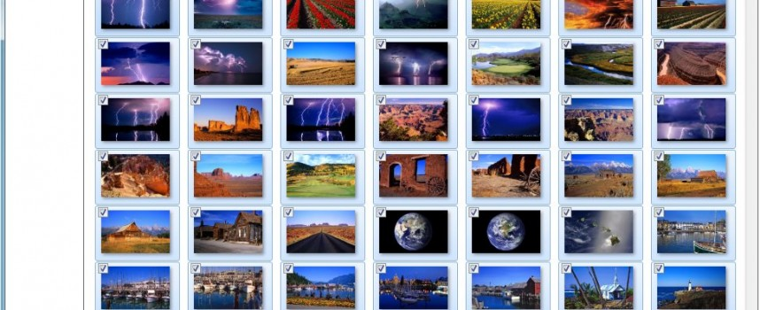 Create Your Own Desktop Wallpaper Slideshow