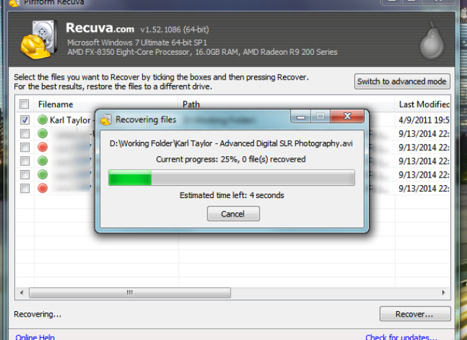 Need to Recover a Deleted File?