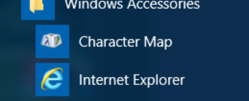 Where are the Windows 10 Accessories?