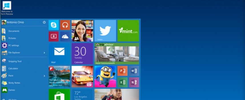 Windows 9 Has Just Become Windows 10