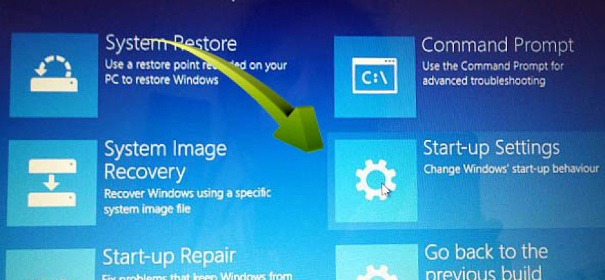 System restore to recover lost files