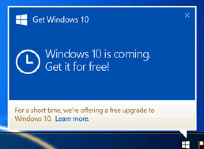 The Catch With Windows 10