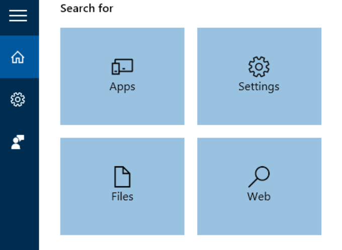 Improved Searching with Windows 10