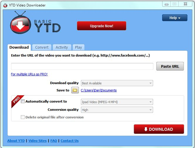 Hot PC Tips - YTD YouTube Downloader